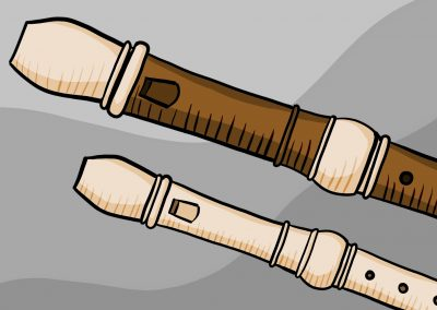 Zobcová flétna